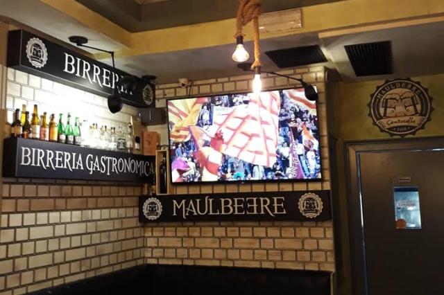 maulbeere birreria pub centocelle i locali migliori di roma dove andare a vedere la partita calcio