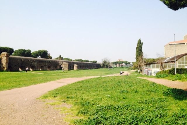 sere di primavera roma parco degli acquedotti