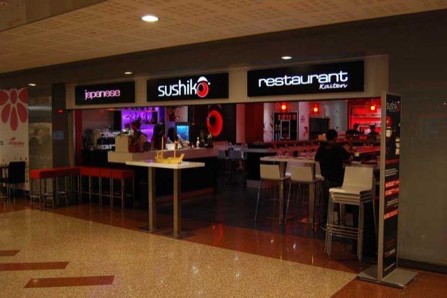 mangiare al centro commerciale roma sushiko
