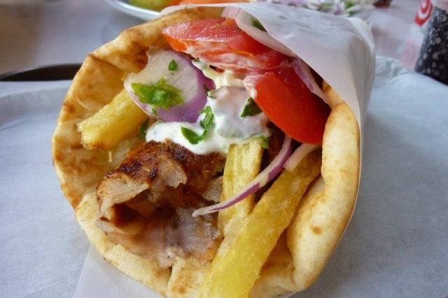 neapolis, asporto a napoli, pita greca