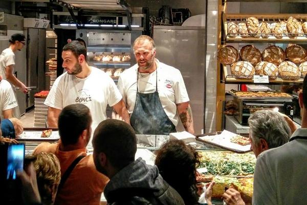 mercato centrale gabriele bonci panificio pane pizza termini gourmet street food