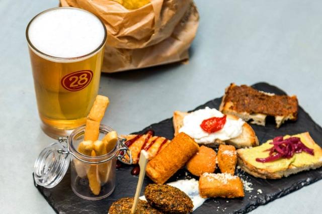 migliori gastropub roma 28 birreria artigianale ponte milvio corso francia cucina gourmet beer pairing cena roma nord