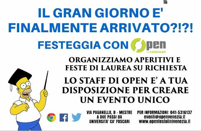 open by testolini mestre feste di laurea