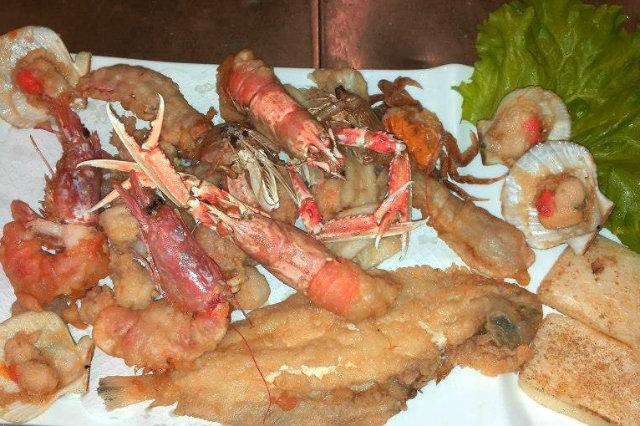 mangiare frittura pesce jesolo