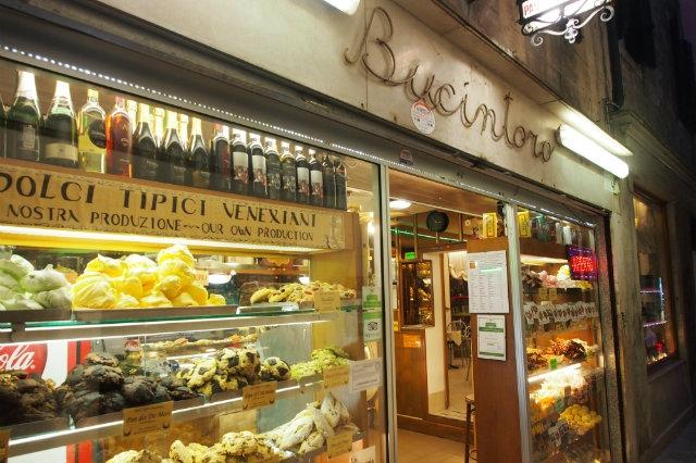 bucintoro, venezia, frittelle