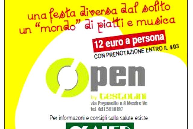 8 marzo open by testolini festa della donna venezia mestre