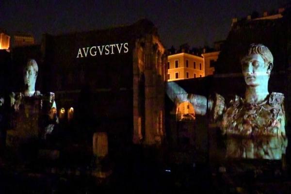 cultura arte musei roma agosto musei aperti foro romano campidoglio palatino visite viaggio nei fori spettacolo foro di augusto foro di cesare piero angela eventi agosto romano