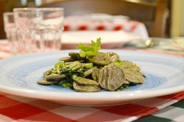 orecchiette ristorante osteria biologica canosa di puglia vinalia