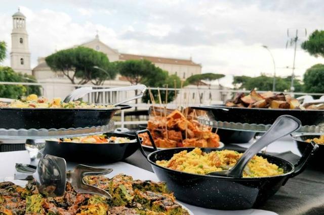 angeli rock ristoranti locali aperti ferragosto roma 2018 estate romana terrazza san paolo ostiense