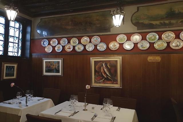 antica trattoria poste vecie ristorante storico a venezia cucina veneziana cucina italiana pesce crudo pesce fritto ricette veneziane