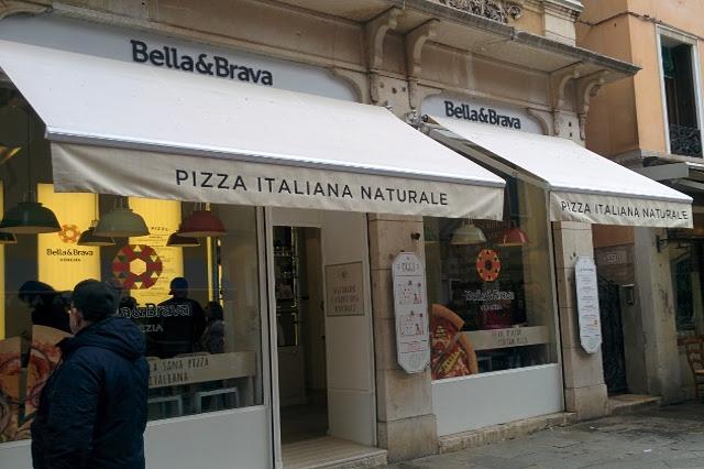 bella e brava pizza biologica vegana vegetariana bio venezia