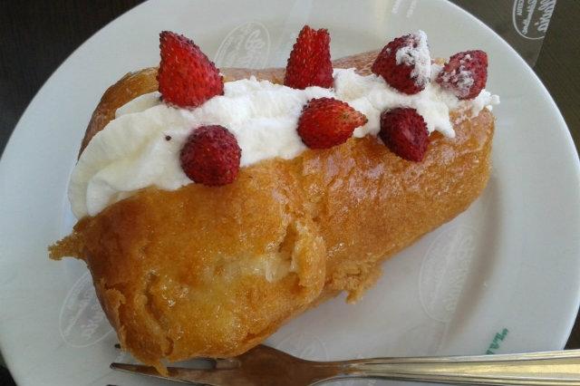 taverna di cucina napoletana a napoli, la taverna del buongustaio, babà