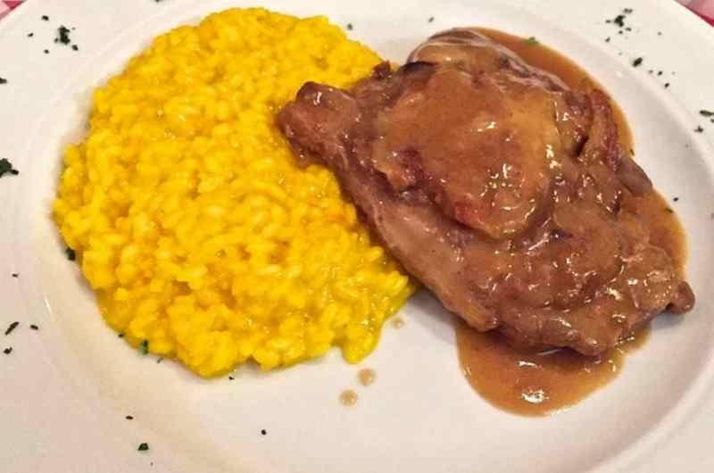 milano ristoranti risotto cucina tradizionale risotto giallo risotto alla milanese risotto con ossobuco trattoria testina milano