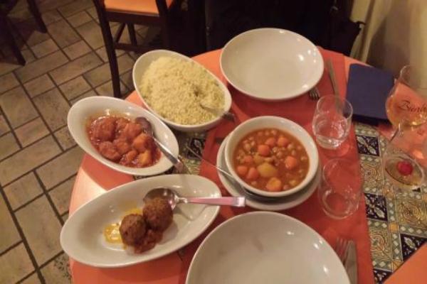 alfonso cous cous roma sallustiano ristorante cous cous ricette nord africa sicilia pesce verdure carne tradizione migliore cous cous a roma