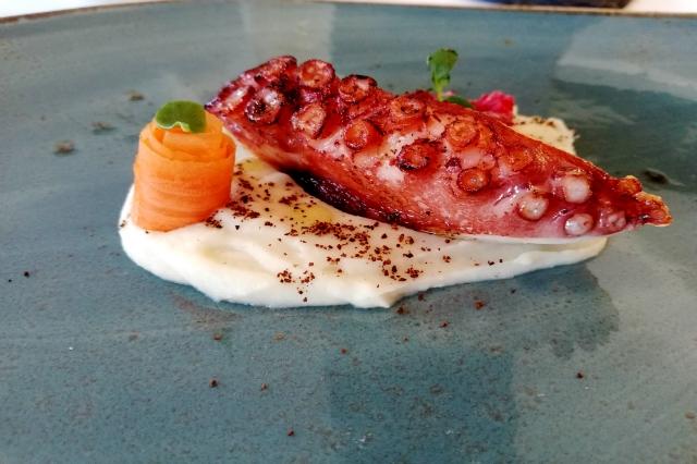 polpo scottato host restaurant recensione fiumicino roma alessandro capponi