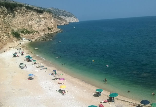 gargano spiagge top belle tranquillità mare puglia