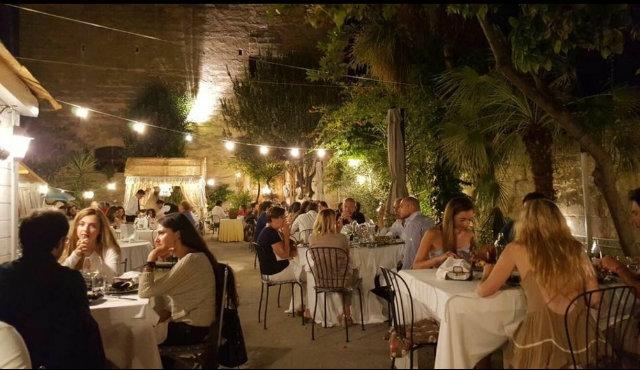 nautilus garden lecce salento cena giardino