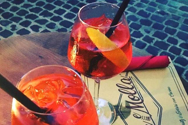 tira e molla spritz preferiti a roma spritz aperitivo roma stuzzichini san giovanni bistrot bar
