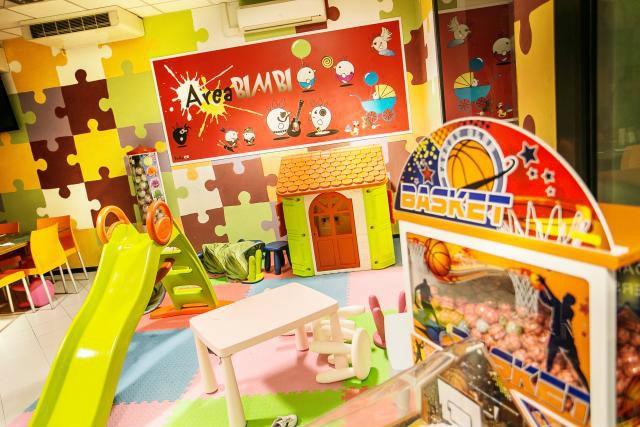Sala Giochi Bimbi : Residence margherita cattolica ampia sala giochi per bimbi