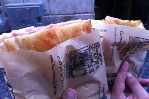 il forno di campo de' fiori pizza bianca centro storico roma classifica migliori 10 pizze con la mortadella di roma