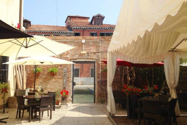 ghimel garden venezia mangiare all'aperto