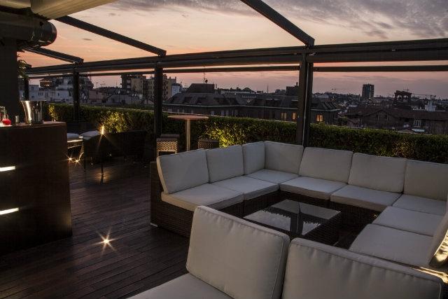 sky terrace milano