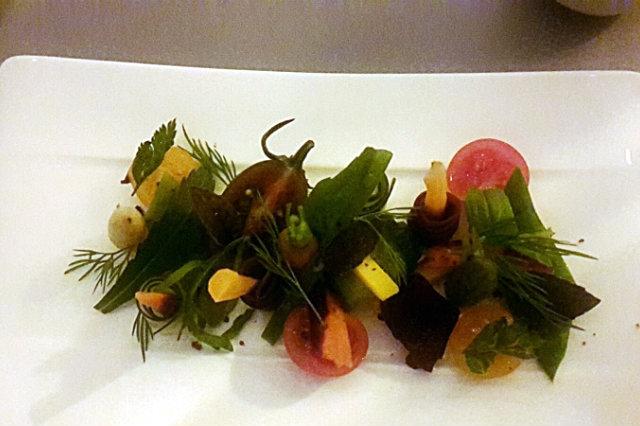 insalata di verdure crude e cotte chorus