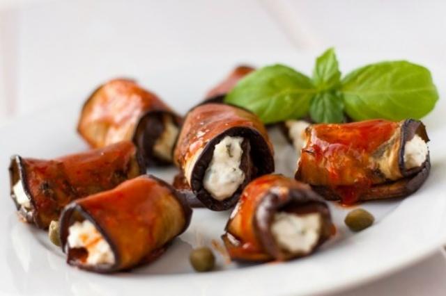 ristorante evangelista roma involtini melanzane e baccalà miniguida dove mangiare baccalà a roma
