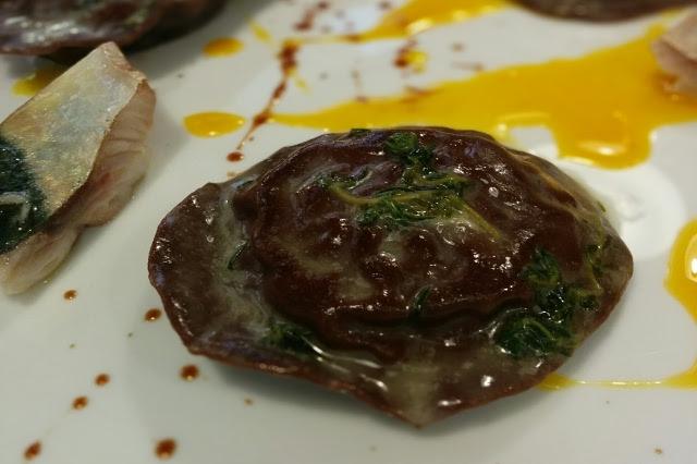 aecravate venezia ristorante ravioli pesce crudo