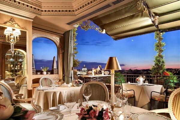 Dove cenare sulle più belle terrazze di Roma