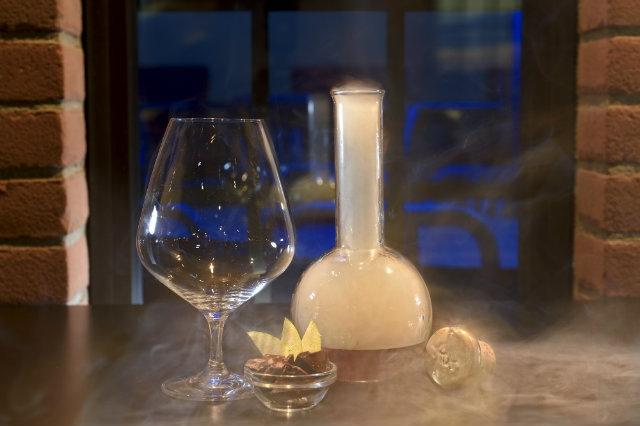 smokeyold fashioned cocktail