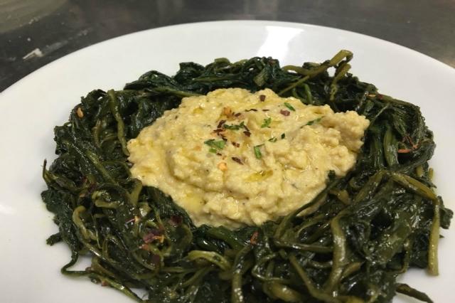 meat hummus cicoria ripassata dove mangiare i migliori hummus a roma portuense cucina giudaico romanesca