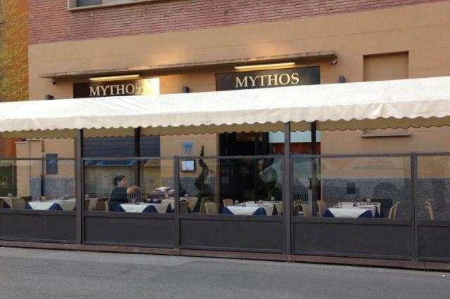 mythos ristorante greco bologna