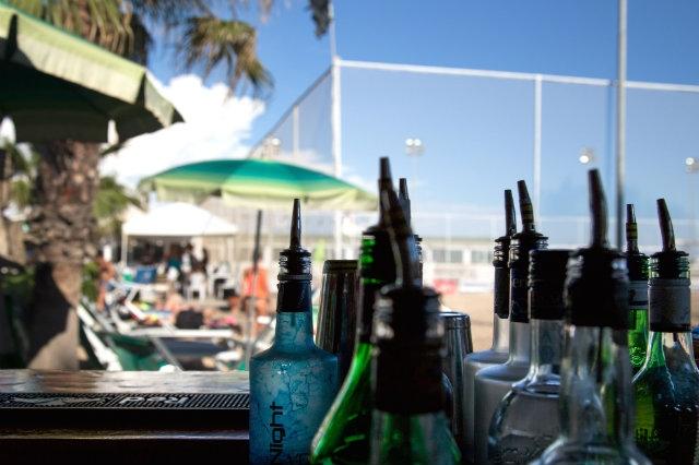 aperitivi spiaggia lido ostia