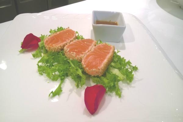 salmone tataki wild ginger roma ristorante cinese giapponese foto 5 intervista