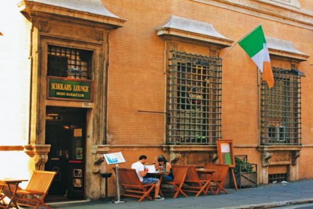 scholars lounge irish pub roma dove andare a vedere la partita a roma maxischermi birra alla spina campionato