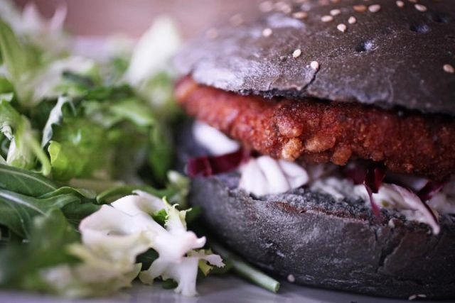 burger vegano roma circo massimo rosso
