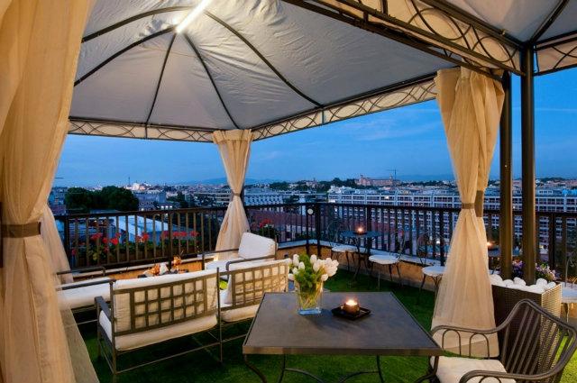 Ecco dove fare l\'aperitivo negli hotel di lusso di Roma