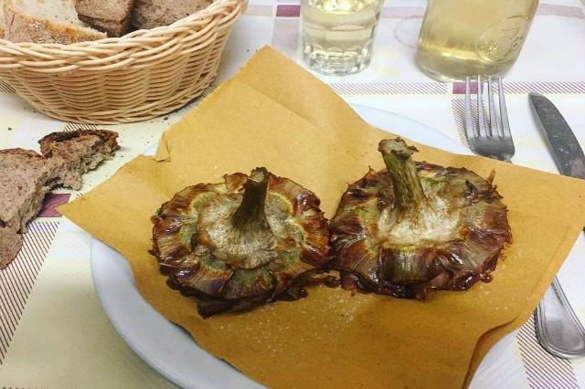 carciofo alla giudia enzo al 29 dove mangiare i carciofi a roma ristoranti trattorie ricette tradizionali