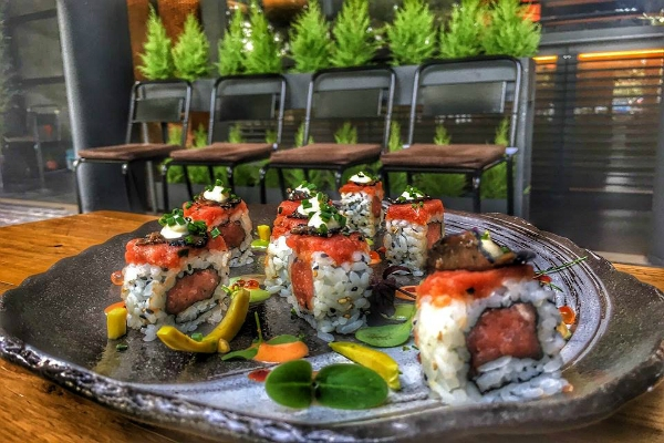 nojo sushi bar ponte milvio fusion sushi hawaiano cucina cocktail giardino zen nuove aperture roma novembre 2016