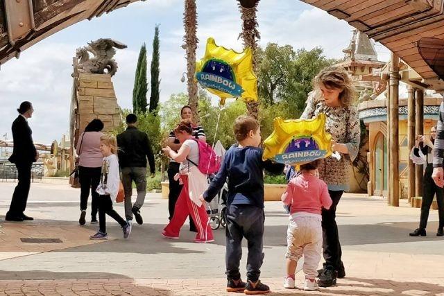 cosa fare d'estate con i bambini a roma rainbow magicland