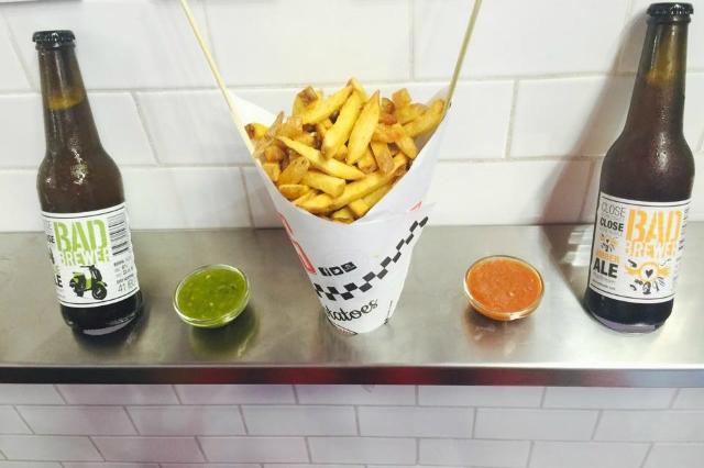 fries patatine fritte french fries roma san pietro street food migliore a roma pranzo spuntino cibo da strada