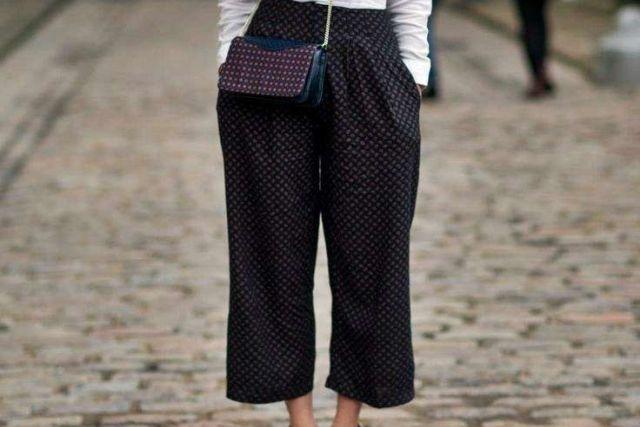 look natale pantalone culotte