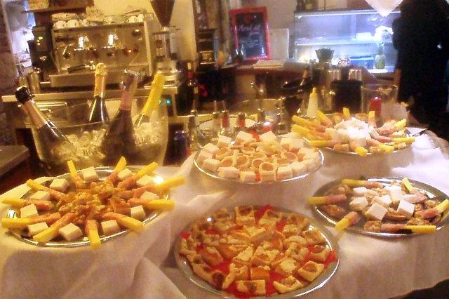 aperitivo buffet veneto