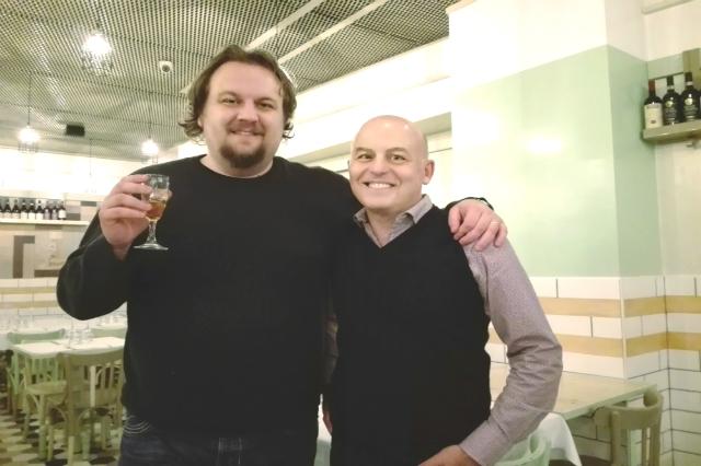 meat roma ristorante cucina ebraica romanesca marco piperno intervista team