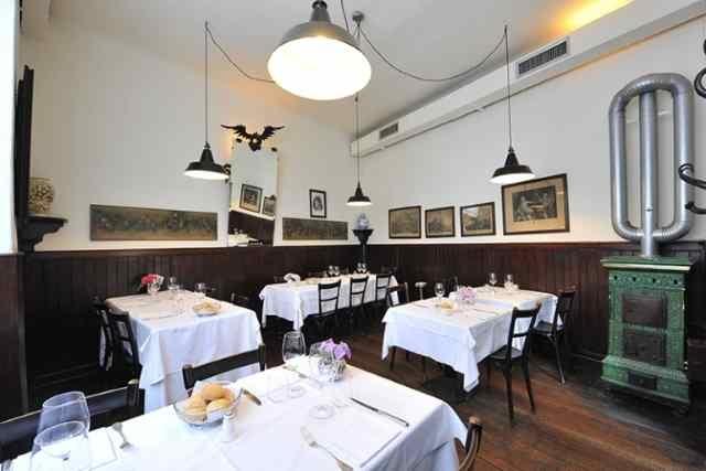 milano ristoranti risotto alla milanese ossobuco cucina tradizionale antica trattoria della pesa