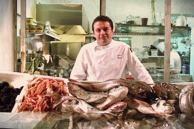 ristorante il san lorenzo via dei chiavari roma centro storico pesce crudo