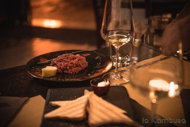 la kambusa carne puglia trani specialità cena
