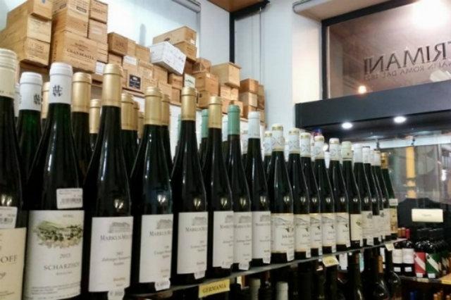 enoteca trimani, guida alle migliori enoteche di roma, vino