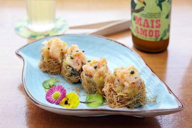 sushi fusion temakinho rinascente tritone roma food hall nuova apertura brasiliano giapponese terrazzo cena